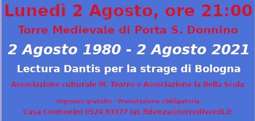 2 AGOSTO 1980 - 2 AGOSTO 2021