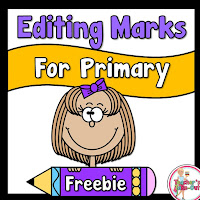 FREE Editing Marks Poster