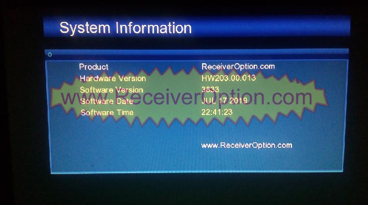 GX6605S BOARD HW203 00 013 TEN SPORTS SOFTWARE NEW UPDATE