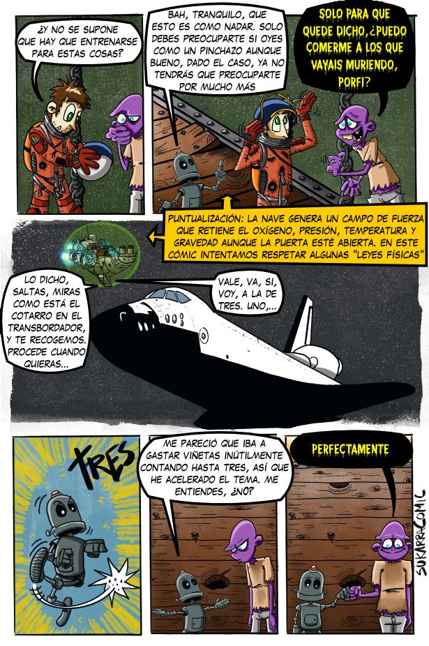 El paseo espacial