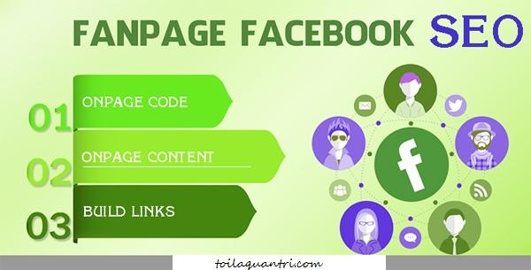 Cách SEO Fanpage trên Google và Facebook