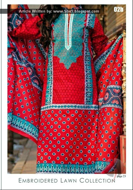 Embroidered Lawn 2015 Vol-1