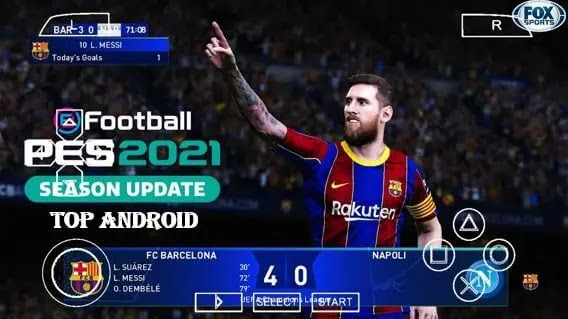 PES 2021 PPSSPP ISO Chelito V8 Season Update Android Offline 600MB