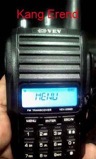 Cara Setting Radio HT VEV-3288D