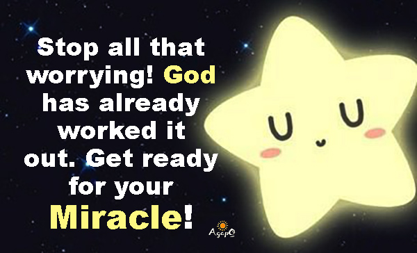 Get ready for your Miracle!