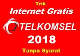 Cara Internet Gratis Telkomsel Tanpa Syarat [Update 2018]