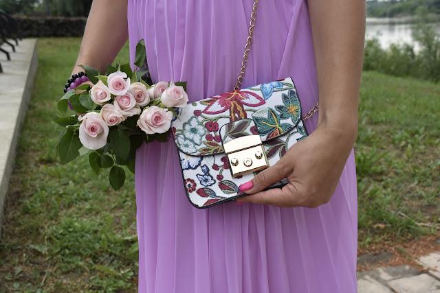 Adriana Style Blog, blog modowy Puławy, plisowana sukienka, Plisowana Sukienka Asos, Masha.pl, Letnia Sukienka, Stylizacja, Lato, Asos Pink Pleated Dress, Outfit, Summer Dress
