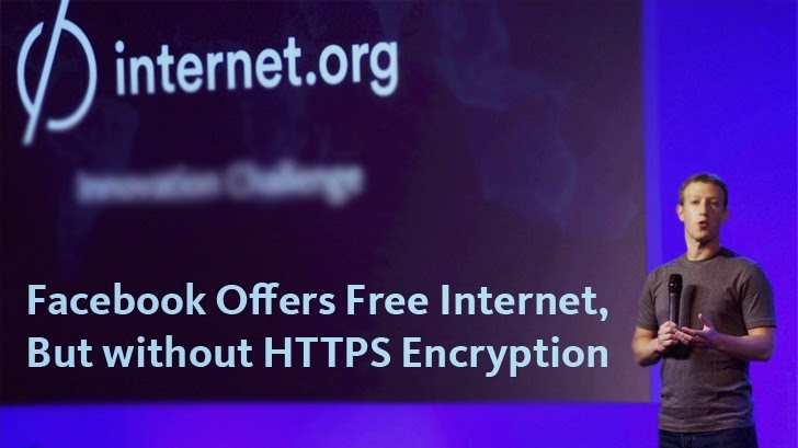 Facebook Opens Free Internet to Developers, But won't Support HTTPS Encryption