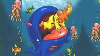 Jona é engolido por um grande peixe