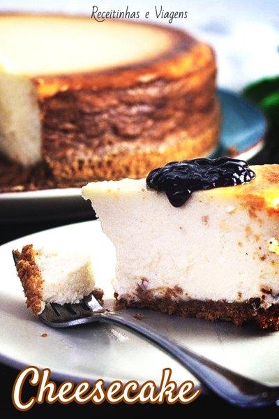 Cheesecaka, receita da tradicional sobremesa americana