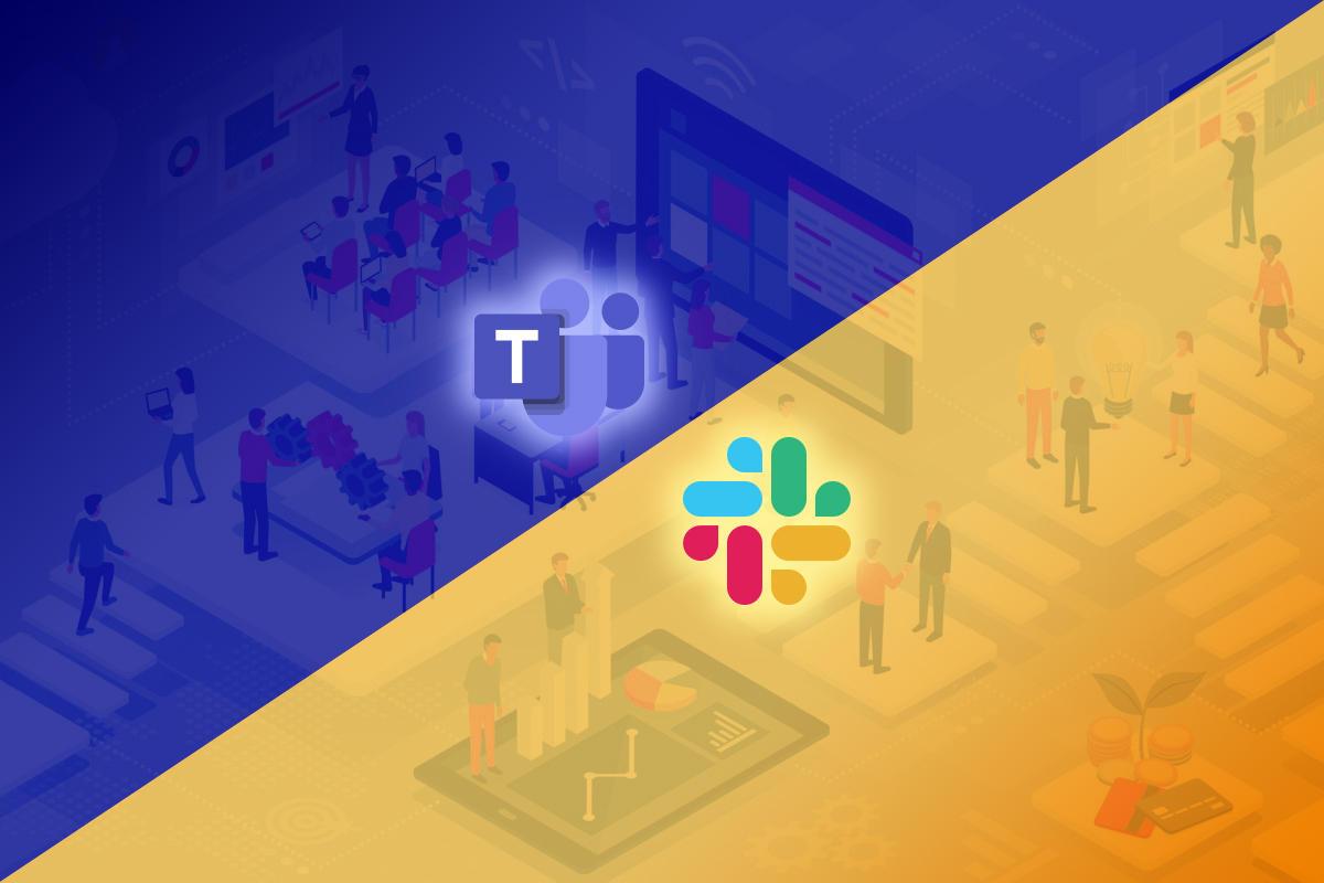 Slack e Microsoft Teams al lavoro per chiamate unificate