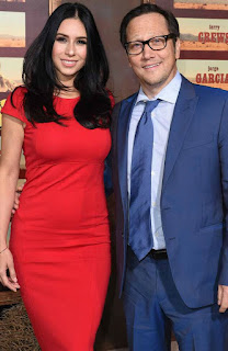 Rob Schneider with his ex-wife Helena