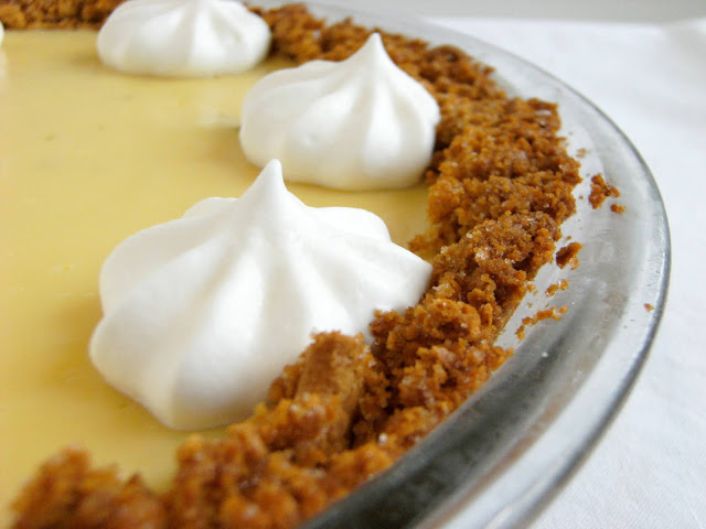 Not-So-Key-Lime Pie, key lime pie when you can't find key limes