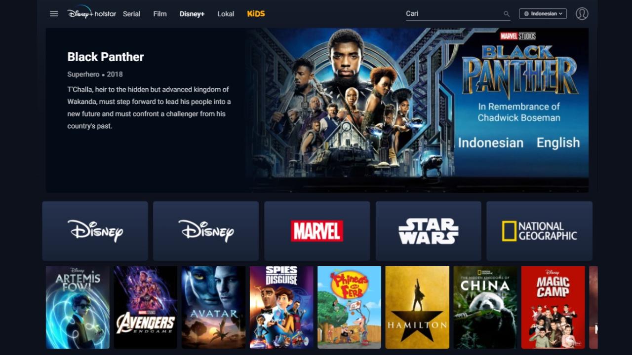 Cara Daftar Berlangganan Disney Hotstar Indonesia Yang Mudah Murah
