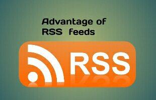 advantage of RSS feeds