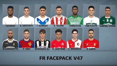 PES 2017 Facepack v47 by FR Facemaker
