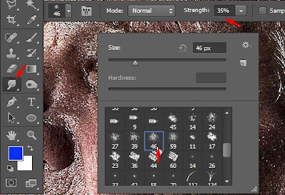 tutorial foto imbas smudge painting dengan photoshop Tutorial Foto Efek Smudge Painting Dengan Photoshop