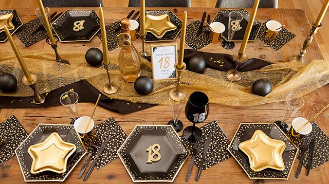 Dekoracje na 18 urodziny - zobacz w sklepie PinkDrink.pl