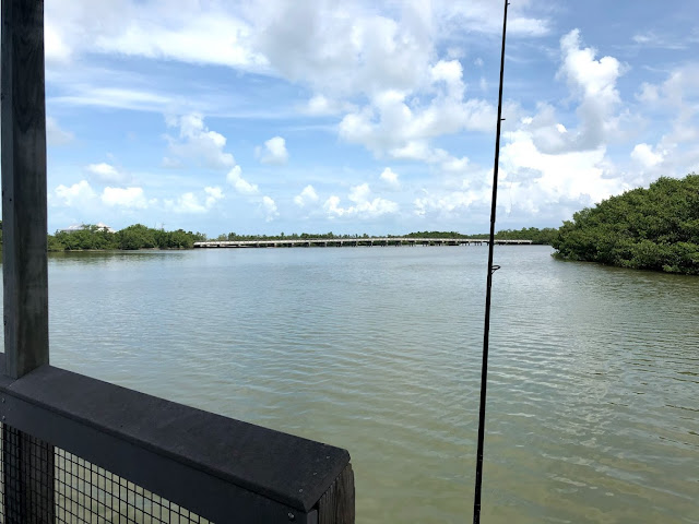Fishing from Lovers Key State Park Fishing Pier