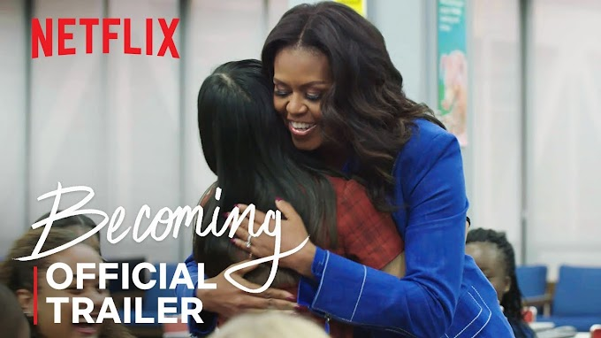 "Watch the Official Trailer for Michelle Obama's Netflix Documentary ""Becoming"""