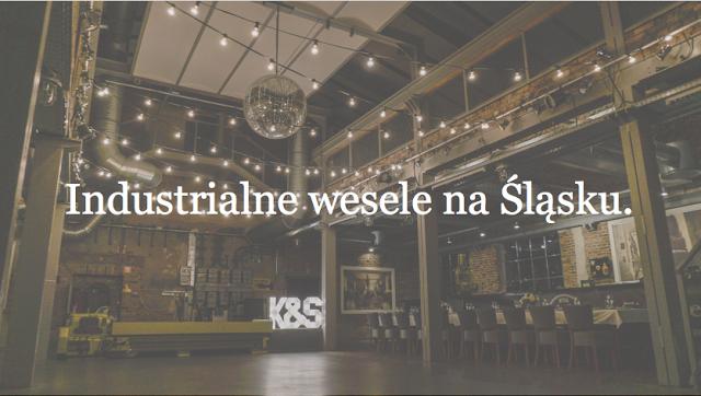 Weselna sala industrialna na Śląsku? - póki co mamy niewiele