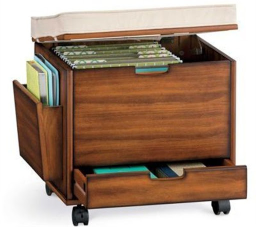 small rolling file cabinet