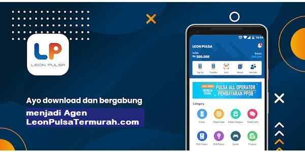 Cara Download dan Menggunakan Aplikasi Android Leon Pulsa Mobile Top Up