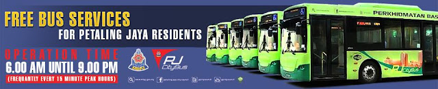 PJ City Bus Free Bus Services Petaling Jaya