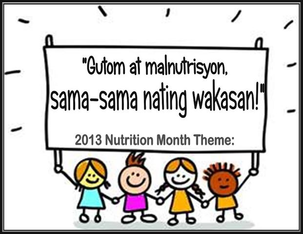 Essay writing about nutrition month tagalog 2013 toyota
