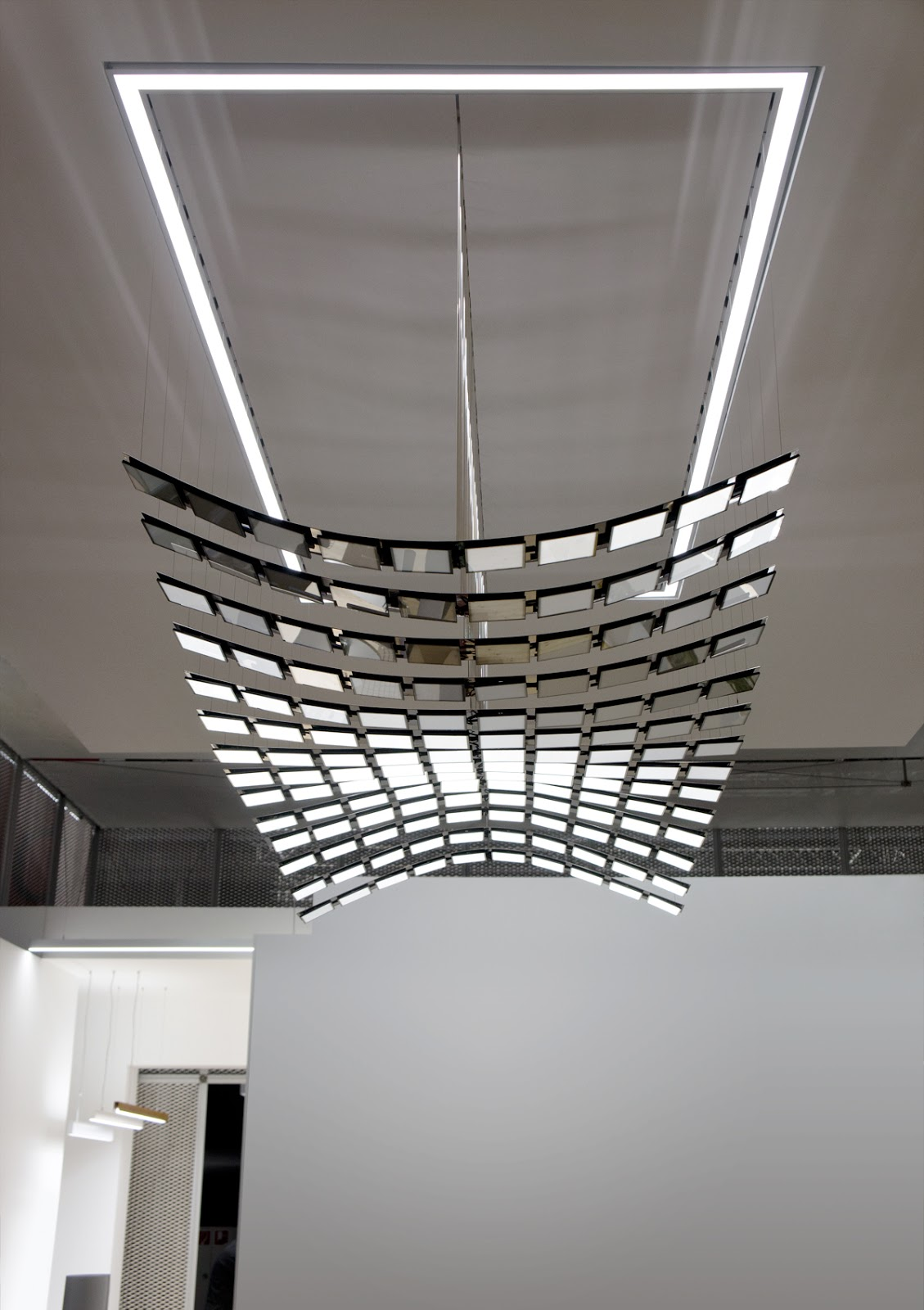 Modern Ceiling Light Decor Finished With Modern Kitchen Stools Bar