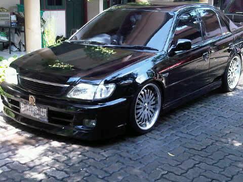 Modifikasi Toyota Soluna Garang Namun Modis - Mobil Modifikasi
