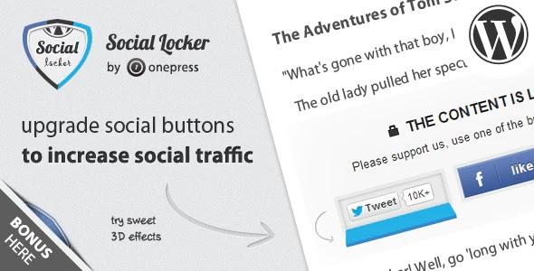 Update 5.6.3 Social Locker Plugin for WordPress