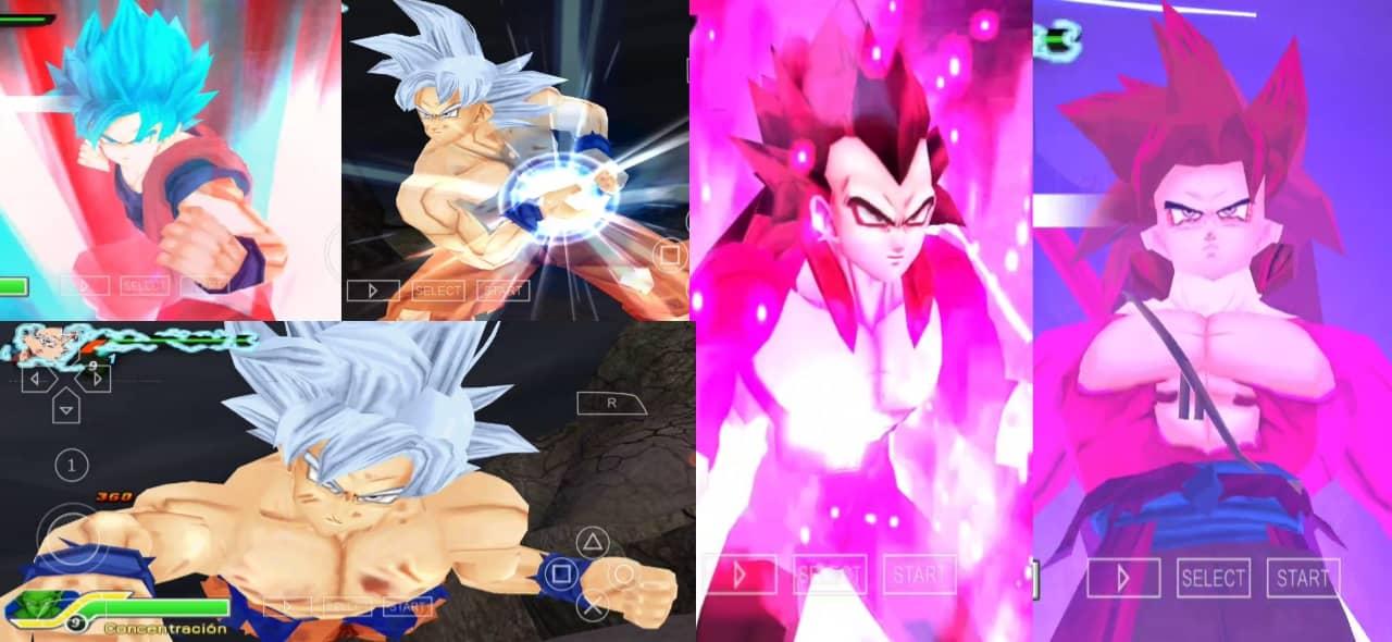 Super Dragon Ball Heroes DBZ TTT MOD