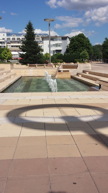 Row, Fountains, Yambol City Centre, Yambol,