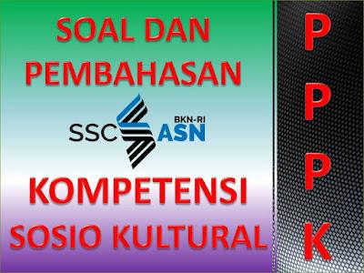 Contoh 20 Soal Kompetensi Sosial Kultural Seri P3K Guru