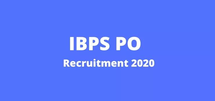 IBPS PO X Recruitment 2020