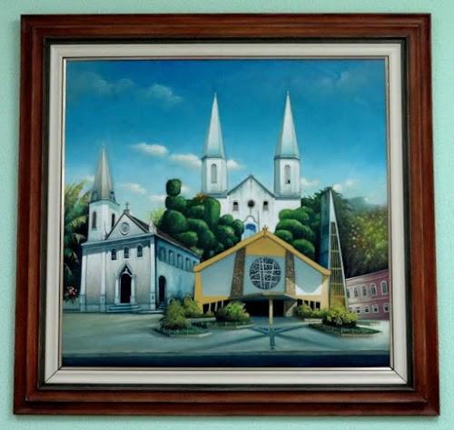 Igreja Matriz da Paróquia Senhor Bom Jesus de Nazaré