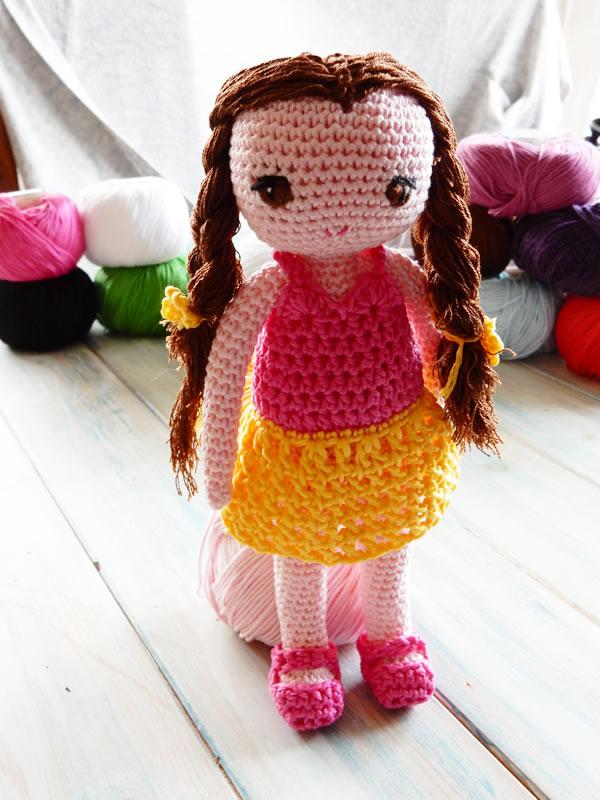 Happy Berry Crochet Crochet Amigurumi Doll Cal Ep1 Head And