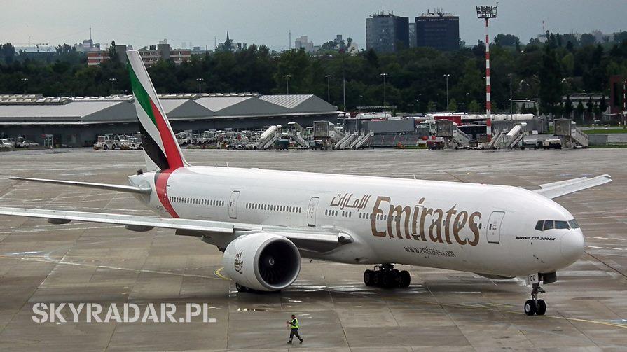 Boeing 777 - Emirates - A6-EGO