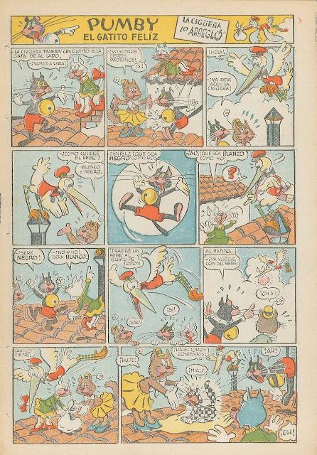 Primera aparición de Blanquita, Pumby nº 3 (18 de junio de 1955)