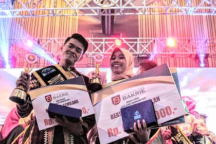 Dwi Wulan Sari dan Aditya Kusuma Duta Genre Lampung 2019 Juara Tingkat Nasional 2019