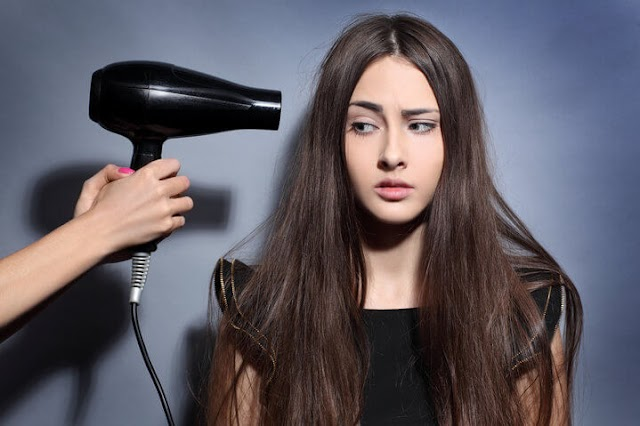 How to use hair dryer properly!