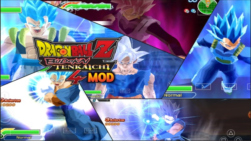 PSP Android Game DBZ TTT BT4 MOD ISO With Permanent Menu Download