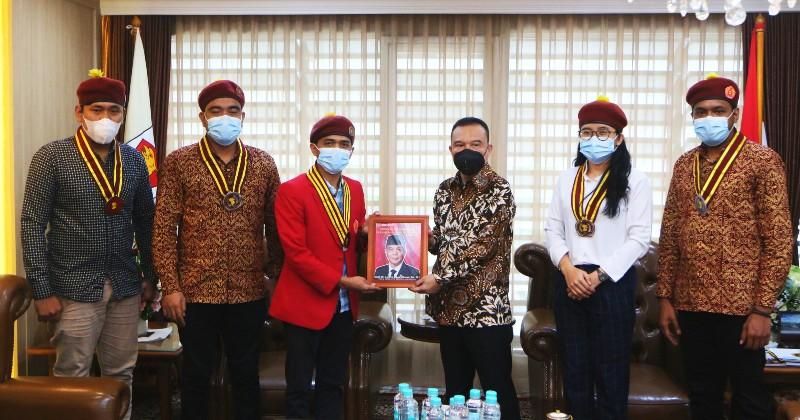 Bertemu Wakil Ketua DPR RI,  PP PMKRI Sampaikan Gagasan Kontekstual