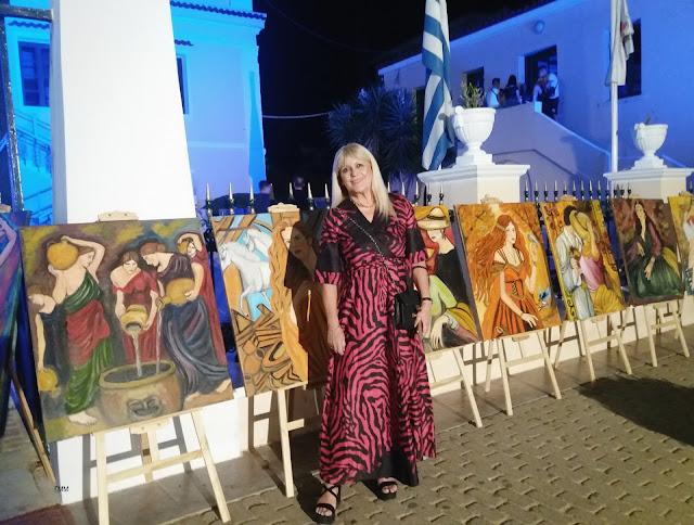 Άργος: Ολοκληρώνεται σήμερα η υπαίθρια Έκθεση Ζωγραφικής της Ελισάβετ Δήμα – Πετροπούλου