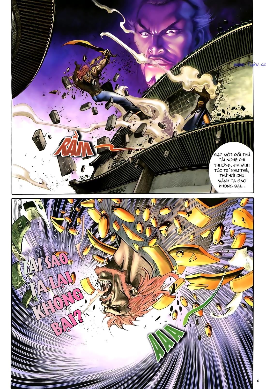 Anh hùng vô lệ Chap 23 trang 5