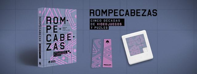 Ya disponible el libro Rompecabezas, cinco décadas de videojuegos y puzles
