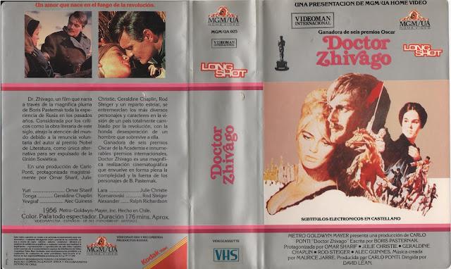 """Pelicula: """"Doctor Zhivago"""" - 1965"""