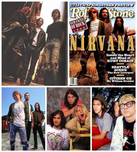 bandas grunge nirvana