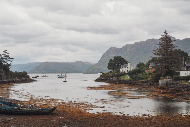 Découvrir les Highlands :le village de Plockton